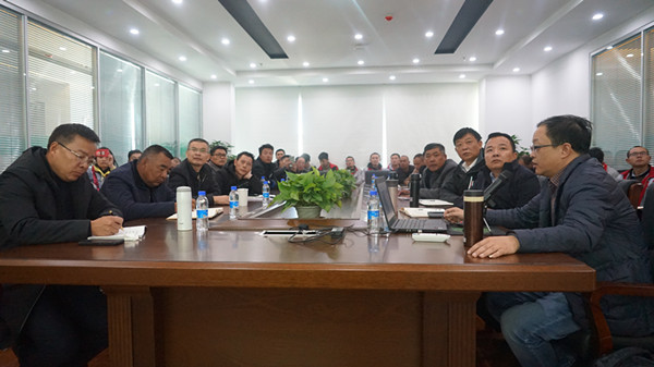 Group companies go to Tibet to carry out business training for enterprises