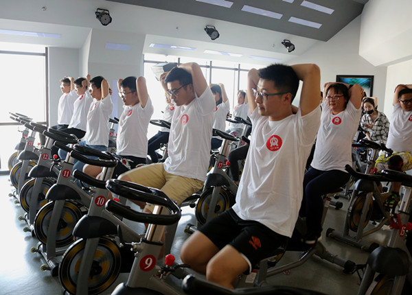 Organizing Committee of the company to hold 54 fitness activities