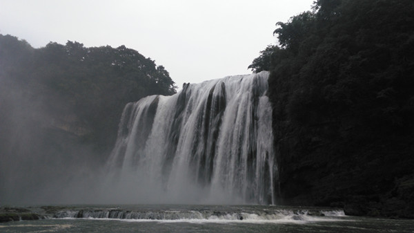 Huangguoshu Waterfalls waterfall, I come again...