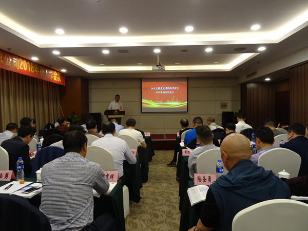 Nanjing regional company convened a working conference at the beginning of 2018